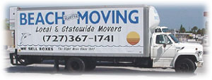 Beach Moving Local and Staewide Florida Moves