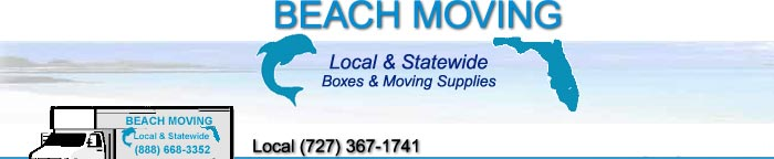 Beach Moving Tampa Bay Florida